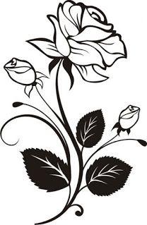 30 Gambar Sketsa Bunga Untuk Mewarnai Servergambar01 Gambar Bunga Sketsa Seni Siluet