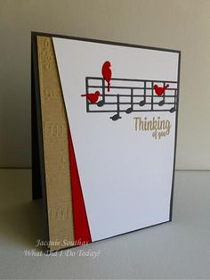 Musical Birds Thinking of You