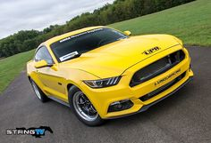 UPR's 2015 yellow EcoBoost Mustang