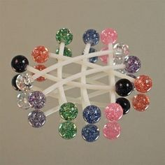 Pregnancy Belly Button Rings-6mm Ultra Glitter is something I will be getting very soon!