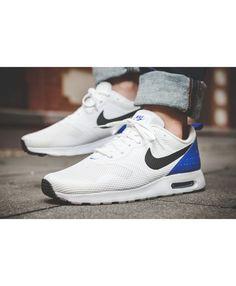 45673517cf36cd Air Max Tavas White Paramount Blue Shoes