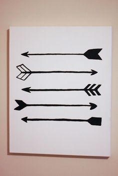 Arrow Painting   laura frances design blog