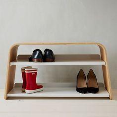 Universal Expert Shoe Bench #westelm