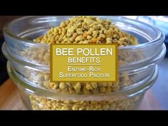 Bee Pollen Benefits as an Enzyme-Rich Superfood Protein Source Natural Protein, Organic Superfoods, Bee Pollen, Protein Sources, Amino Acids, Benefit, Remedies, Nutrition, Vegan