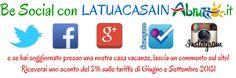Be social con http://www.latuacasainabruzzo.it