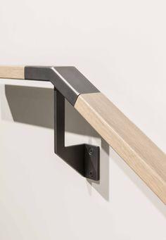 Custom Louvre Stair System Hand Rail Detail