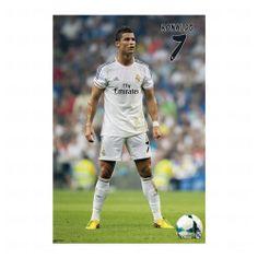 Premiership Soccer Real Madrid Ronaldo 7 Poster #Madrid #Ronaldo #7 #Soccer #SoccerSavings.com
