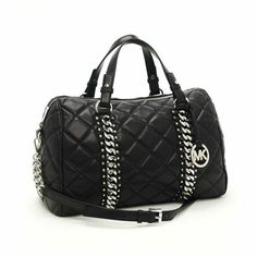 For My Holiday ,Michael Kors Shoulder Handbags,Michael Kors Quilted Chain-Detail Bag Large Sale-149