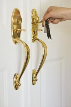 How to Rescue Cheap Plated Brass Door Hardware - Blue Magic 400 ...