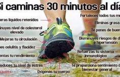 Media hora de caminata pueden aportar importantes beneficios a tu salud ¡Empieza mañana mismo!