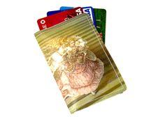Cinderella Wallet Recycled Paper With Victorian Era Dress Cinderella. $8.00, via Etsy.