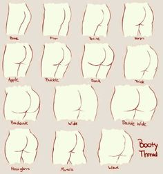 Which one is your bum?