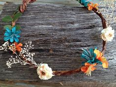 Hey, I found this really awesome Etsy listing at http://www.etsy.com/listing/157866981/bohemian-flower-hair-crown-boho-style
