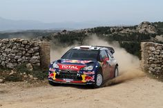 Sebastien Loeb of France and Daniel Elena of Monaco compete in their Citroen Total WRT Citroen DS3 WRC during Day2 of the WRC Rally d'Italia Sardinia  on May 7, 2011 in Olbia, Italy.
