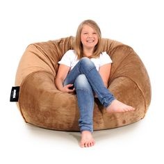Beanbag PLUSH brown - JABBA Design Bean Bag Chair, Plush, Brown, Furniture, Design, Home Decor, Decoration Home, Room Decor