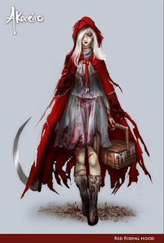 "American McGee:  ""Akaneiro: Demon Hunters"" is an online, lite-RPG based on a dark, Japanese themed Red Riding Hood – for those of you who are quest & collect fans. If you liked the dark, twisted atmosphere of the ""Alice"" series, you'll love this adaptation of ""Red"". Expect this online and on Tegra-powered Android tablets."