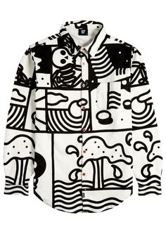 T-shirt print fashion lazy oaf new Ideas Shirt Designs, Fashion Prints, Fashion Design, Mens Fashion, Fashion Outfits, Look Cool, Long Sleeve Shirts, Shirt Sleeves, Printed Shirts
