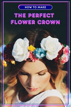 The Exact Way to Make the Perfect Flower Crown - Cosmopolitan.com