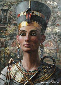 Nefertiti Egypt Queen