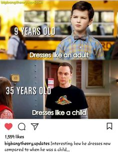 Young Sheldon/Big Bang - So Funny Epic Fails Pictures The Big Theory, Big Bang Theory Funny, Sheldon Cooper Funny, The Big Bang Therory, Tbbt, Funny Memes, Hilarious, Memes Humor, Funny Quotes