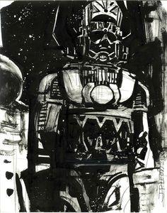 Galactus by John Paul Leon