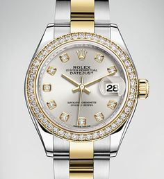 Discover the new Rolex Lady-Datejust 28 unveiled at Baselworld 2016.