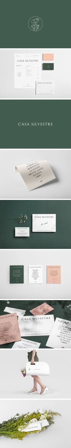 Brand Identity for Casa Silvestre by Basic Studio