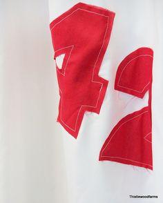 faux sail cloth Shower Curtain - Thistlewood Farm