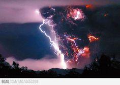 Ever heard of Volcanic Lightning?