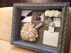 Our Clients Beautiful Wedding Keepsake Box From Their Gorgeous December Thanks To Forever Flowers