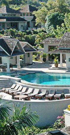 Indulge in a hilltop jungle escape with 5 separate villas in #Jamaica