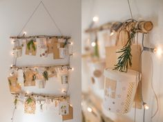 Advent calendar for hanging - Adventskalender - Home Decor Nordic Christmas, Christmas Sewing, Christmas Love, Christmas 2017, Winter Christmas, Xmas, Countdown Calendar, Advent Calenders, Winter Wonderland
