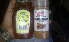 Cinnamon and Honey! Drug companies won't like this one getting around.