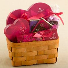 Giveaway! Comment to win a HUGE basket of chocolate treats from @nandita & @LCChocolates