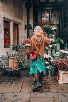Flowers photography winter 54 New Ideas Fashion Mode, Look Fashion, Winter Fashion, Womens Fashion, Mode London, Mode Outfits, Fashion Outfits, Hippie Stil, Look Boho