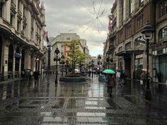 Rainy day at Knez