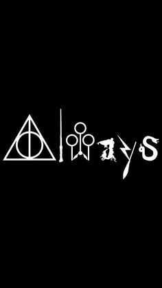 "CMI187 Always Harry Potter WHITE Vinyl Car/Laptop/Window/Wall Decal | 8.75"" x 4.5"" More"