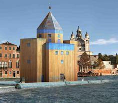 Aldo ROSSI teatro del mondo - (Flotante,Arq. como Artefacto,mundo modificado x personas, entorno es mas potente,Dialogo con iglesia,Teato recuerda carnavales venecia)