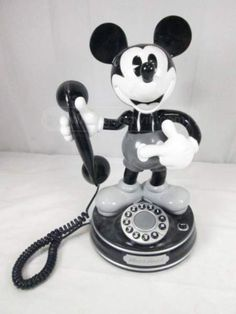 King America Mickey Mouse 1 Telephone