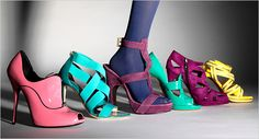 Bright Candy Shoes
