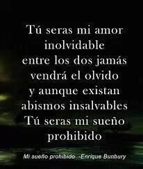 Amores prohibidos quotes