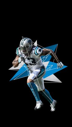 American Football, Football Team, Kelvin Benjamin, Football Conference, National Football League, Carolina Panthers, Design Inspiration, Design Ideas, Two By Two