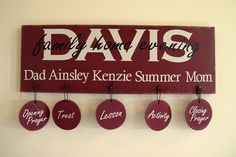 Family Home Evening Board by the3littlelonis, via Flickr