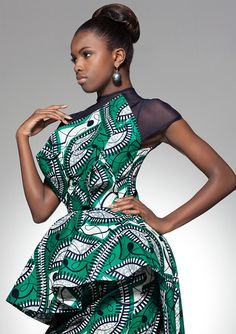 Vlisco ~African Prints, African women dresses, African fashion styles, african clothing