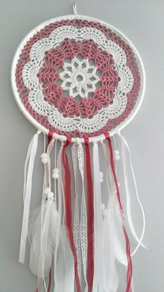 Crochet Granny, Knit Crochet, Dream Catcher Patterns, Doilies, Projects To Try, Knitting, Gifts, Navajo, Ideas Para