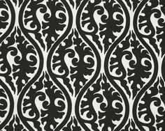 Black and White Fabric Design