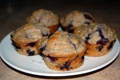 Oat Bran Blueberry Muffins (Retete Montignac)