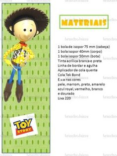 MOLDES DE WOOD - TOY STORY