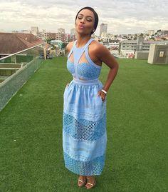 .....Tuesdays in Cape Town! #blackgirlmagic #tvhost #instafashion Dress- @alistboutiquecapetown Shoes - @giuseppezanottiworld