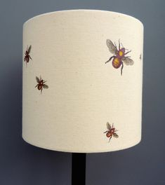 These beautiful Kettle of Fish drum lampshades are a striking alternative to our very popular framed prints.    Hand printed on unbleached